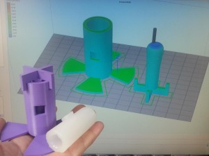 3d printed mold with Simplify3D